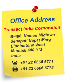 New Address: B-406, Naman Midtown, Senapati Bapat Marg, Elphinstone West